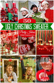 Throw the best Christmas party with these 50 Ugly Christmas Sweater Party  Ideas | OhMy-