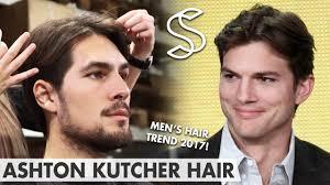 Middle Split Hair Style ashton kutcher hairstyle mens hair fashion 2017 middle 2160 by stevesalt.us