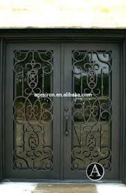 front door : Front Door Iron Gate Wrought Doors Suppliers And ...