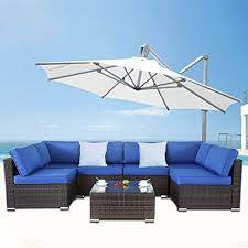 outime patio furniture outdoor black