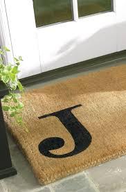 Monogrammed Door Mat Bed Bath And Beyond Coir Personalized Mats ...