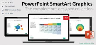 Smart Art Venn Diagram Powerpoint Smartart Graphics The Complete Collection
