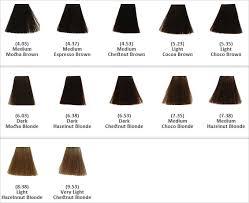 Keune Hair Colour Chart Keune Tinta Color Brown Shades In 2019 Brown Shades