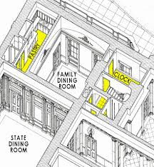 west wing office space layout circa 1990. West Wing Office Space Layout Circa 1990 First Floor White House N