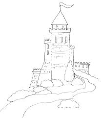 Coloriage Magique Chateau Coloriage Chevalier De Livre Cheval Et