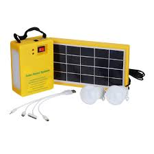 Solar Charging Light Solar Panel Power Generator Kit 5v Usb Charger Home Outdoor System With 2 Led Bulbs Light