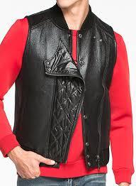leather vest 321