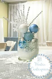 office party decorations. these centerpieces are so easy to make and can be used for much more than just winter centerpiecesfrozen party decorationschristmas office decorations