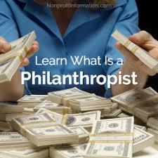 Image result for philanthropist