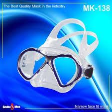 New Scubamax Xterra Scuba Diving Snorkeling Mask Transparent