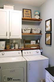 cabinet with shelf underneath for detergent would put drip dry rod on other side diy laundry laundry room cabinets building storage diy adelaide laund