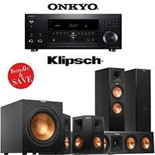 klipsch home theatre. onkyo tx-rz900 7.2-channel network home theater receiver + klipsch rp-260f theatre w