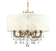 chandelier with drum shade or appealing chandelier drum shades beautiful lamps with hanging crystals and iron good chandelier with drum shade