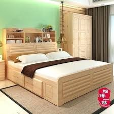 double bed with box design.  Double Bed Designs With Storage Latest Solid Wood Double  Box Frame For Home   Throughout Double Bed With Box Design