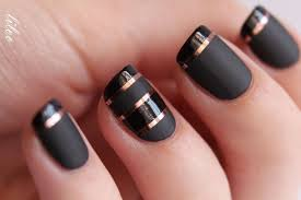 classy design black red. Black Nails For Classy Nail Designs Design Red R