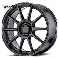 Details About 17 X7 Inch Satin Black Motegi Racing Wheels Mr140 Fits Audi Volkswagen 5x112 38