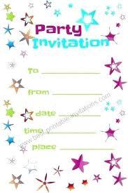 Football Party Invitations Templates Free Free Tea Party Invitations To Print Football Birthday Invitation