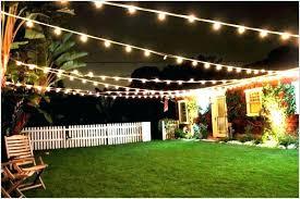 outdoor lighting ideas for backyard. Garden Party Lighting Ideas Backyard For A Outdoor Finding N