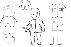 American Girl Coloring Pages O3968 Girl Doll Coloring Page Free
