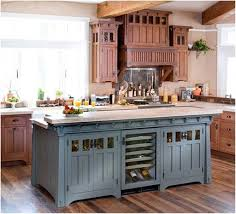 Blue Paint For Kitchen French Country Blue Kitchen Cabinets Cliff Kitchen