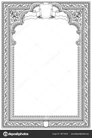 white certificate frame simple black white certificate frame border tangier design stock
