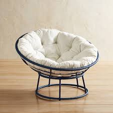 Navy Outdoor Papasan Chair Frame