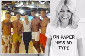 love island s biggest fan holly willoughby wears amazing he s my love island s biggest fan holly willoughby wears amazing he s my type on paper t shirt where to buy the acircpound7 99 tee