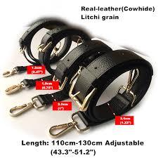 details about real leather purse strap adjustable cross shoulder replacement handbag bag