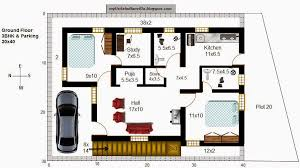 37 r30 2 5bhk in 40x30 west facing requested plan