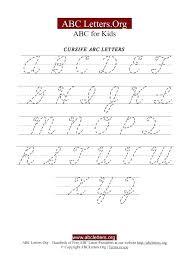 Cursive Letters Practice Worksheets Worksheet Best