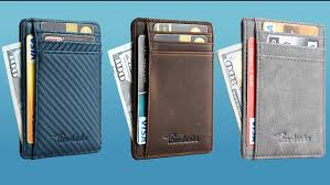 great guy gifts slim front pocket wallets are a gift for any mens valentines day best