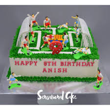 Football Game Players Sport Boy Birthday Cake Singapore