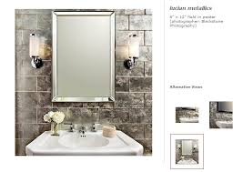 bse shoots lucian metallics tile for ann sacks tile