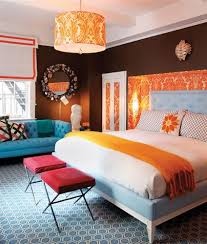 Perfect Bedroom Decorating Ideas Blue And Orange For Bedrooms