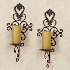 full size of wall decor beautiful white wrought iron wall decor unique candle holders wall