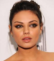 cool makeup ideas for brown eyes photos mila kunis makeup for brown eyes