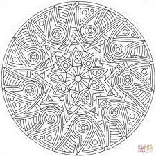 Disegno Di Mandala Celtico Da Colorare Disegni Da Colorare E In Con