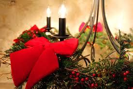 Weihnachtlicher Kronleuchter