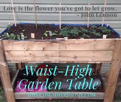 diy raised garden bed using pallets