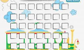 Dots Reward Charts Potty Training Potty Sticker Chart Free
