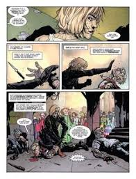 page two of judge anderson the deep end written by alec worley with art by