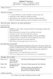 Cook Resumes New Sample Cook Resume Restaurant Samples Line Job Cover Letter Ideas