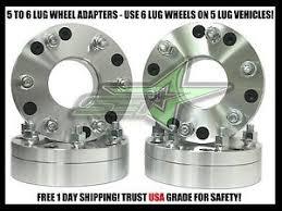 4 Wheel Adapters 5x5 To 6x5 5 Use 6 Lug Wheels On 5 Lug
