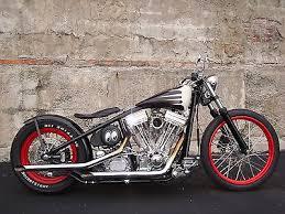 bobber bobber rolling chassis american chopper harley hot rod old