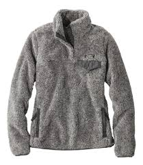Ll Bean Stock Chart L L Bean Hi Pile Fleece Pullover In 2019 Warm Jackets For
