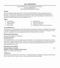 Building Contractor Resume Sample Professional Resume Templates