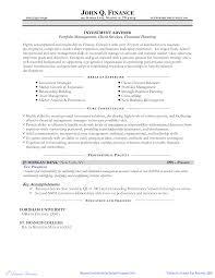 免费financial Planner Resume