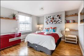 Shoreditch Apartment Rental   Master Bedroom