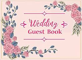 Wedding Guest Book Wedding Guest Signing Book For Reception