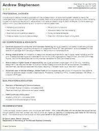 Australian Resume Format Sample Australian Resume Format Letsdeliver Co